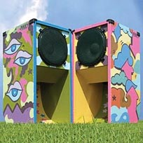 Funkywormhole speaker boxes